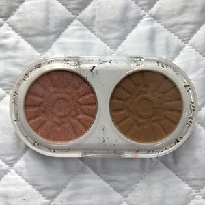 Pacifica Bronzed Rose Blush and Bronzer Palette